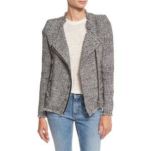 IRO   Carlota Asymmetric Tweed Jacket